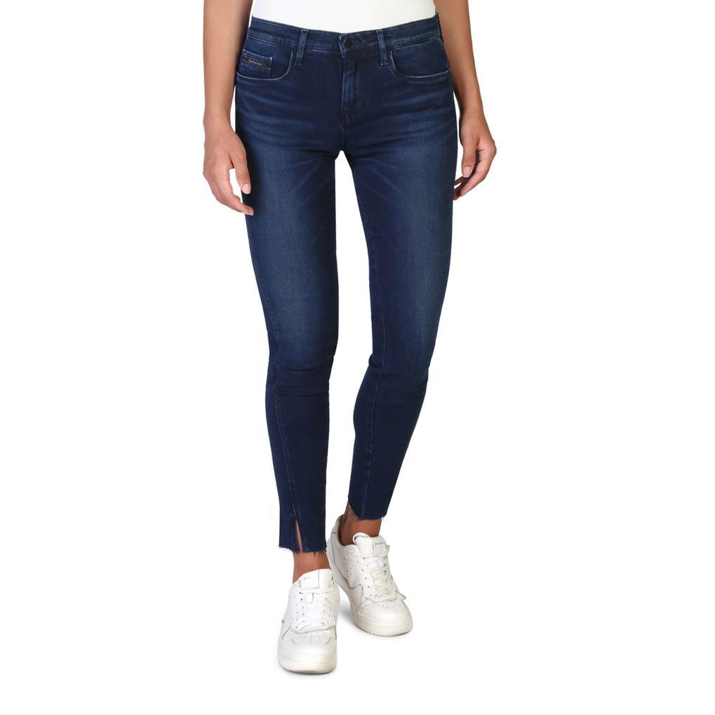 Calvin Klein Women's Jeans Blue J20J206211 - blue-2 25