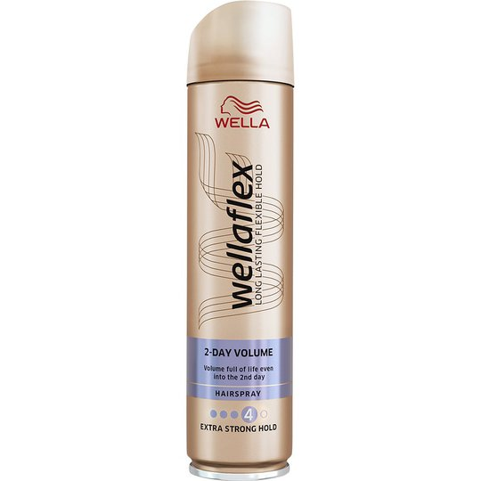 Wellaflex HS Volume 2nd Day X Strong, 250 ml Wella Styling Muotoilutuotteet
