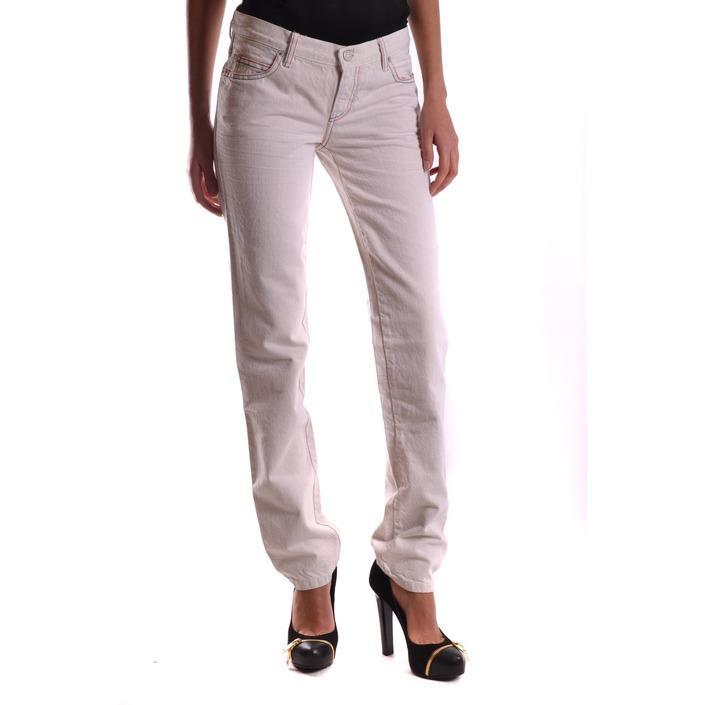 Alexander Mcqueen Women's Jeans White 167798 - white 27