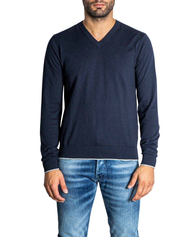 Armani Exchange Men's Sweater Various Colours 308093 - blue-2 M