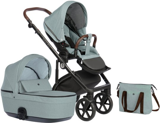 Nordbaby Nord Active Plus Duovogn, Arctic Slate