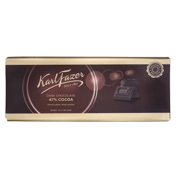Karl Fazer Dark Chocolate 250g