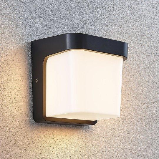 Utendørs LED-vegglampe Adenike uten sensor