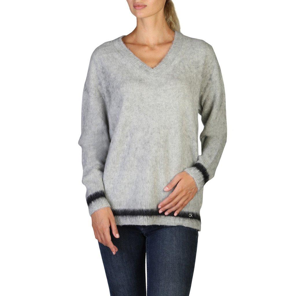 Calvin Klein Women's Sweaters Grey 349503 - grey XS