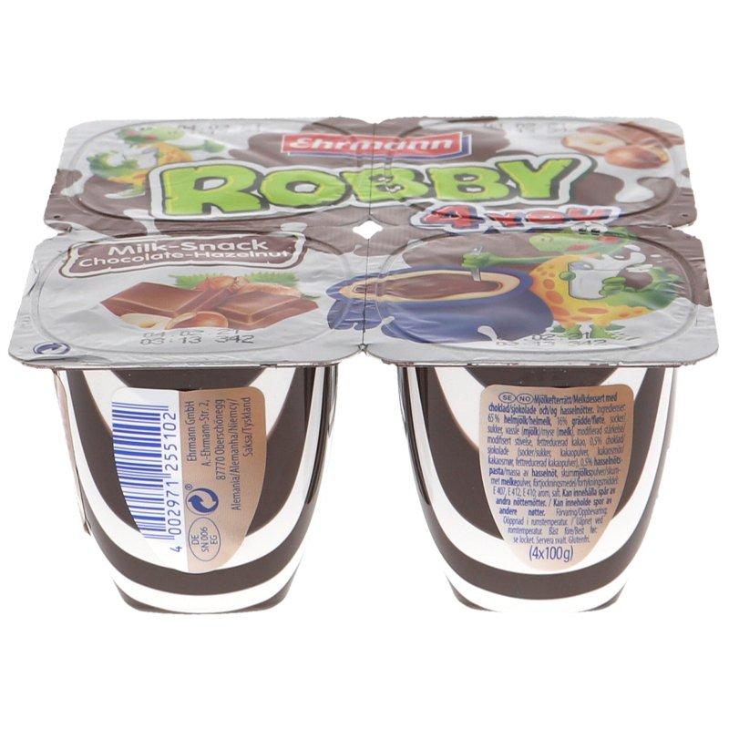 Chokladpudding Hasselnöt 4-pack - 22% rabatt