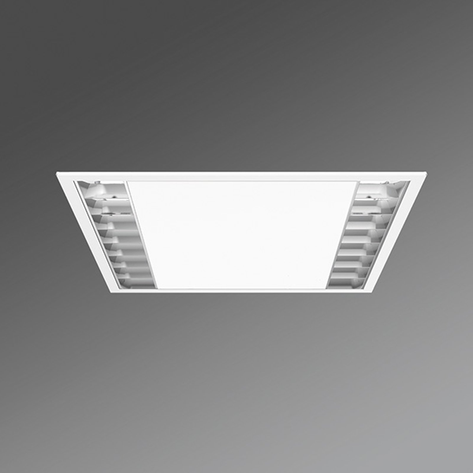 LED-downlight kontor UEX/625 parabolraster