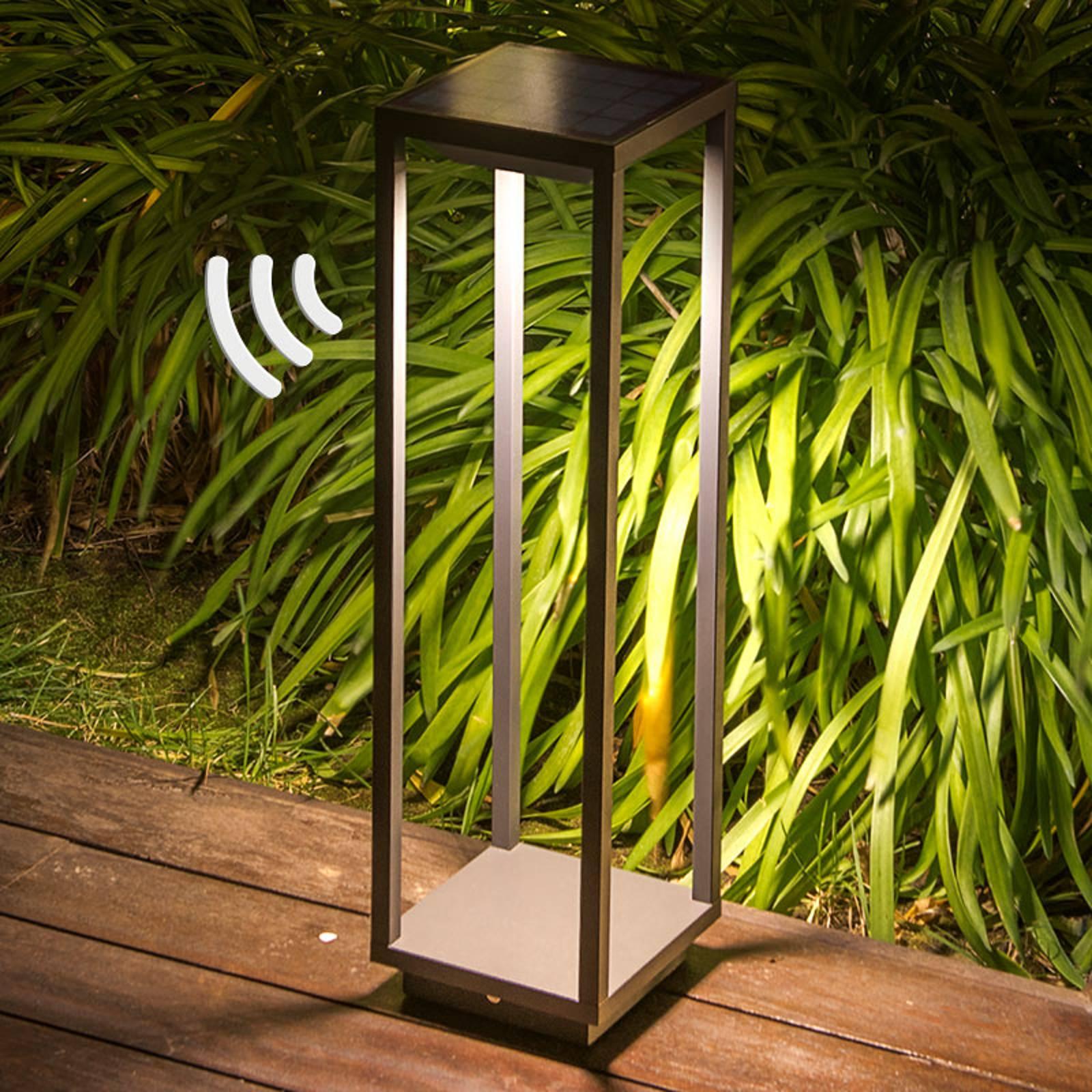 LED-pollarivalaisin Saura, liiketunnistimet