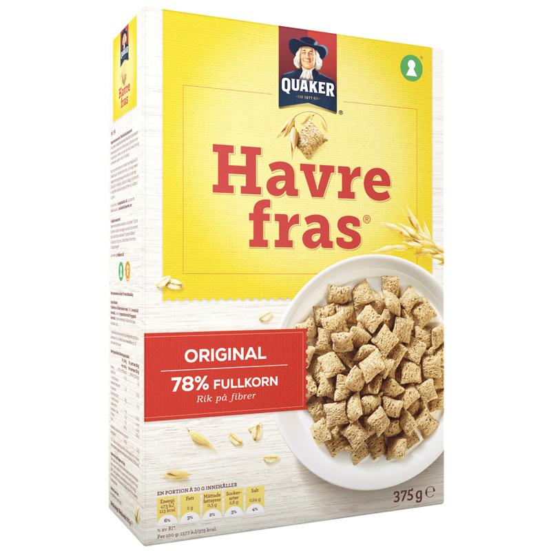 Havrefras 375g - 21% rabatt