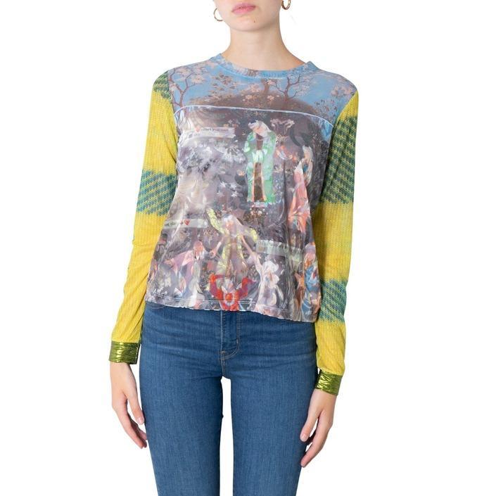 Desigual Women's Top Multicolour 305871 - multicolor S