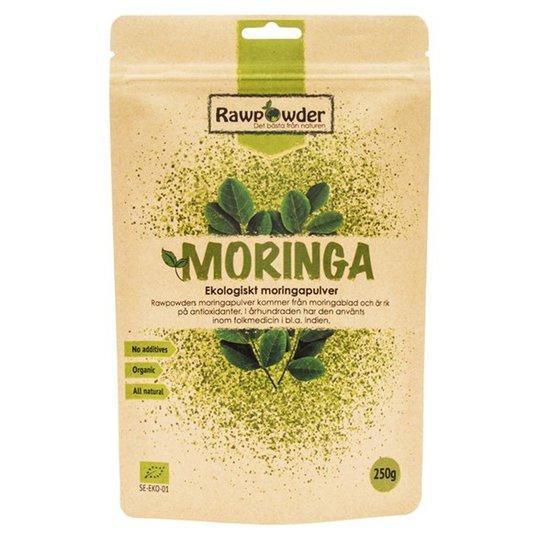 Rawpowder Ekologiskt Moringapulver, 250 g
