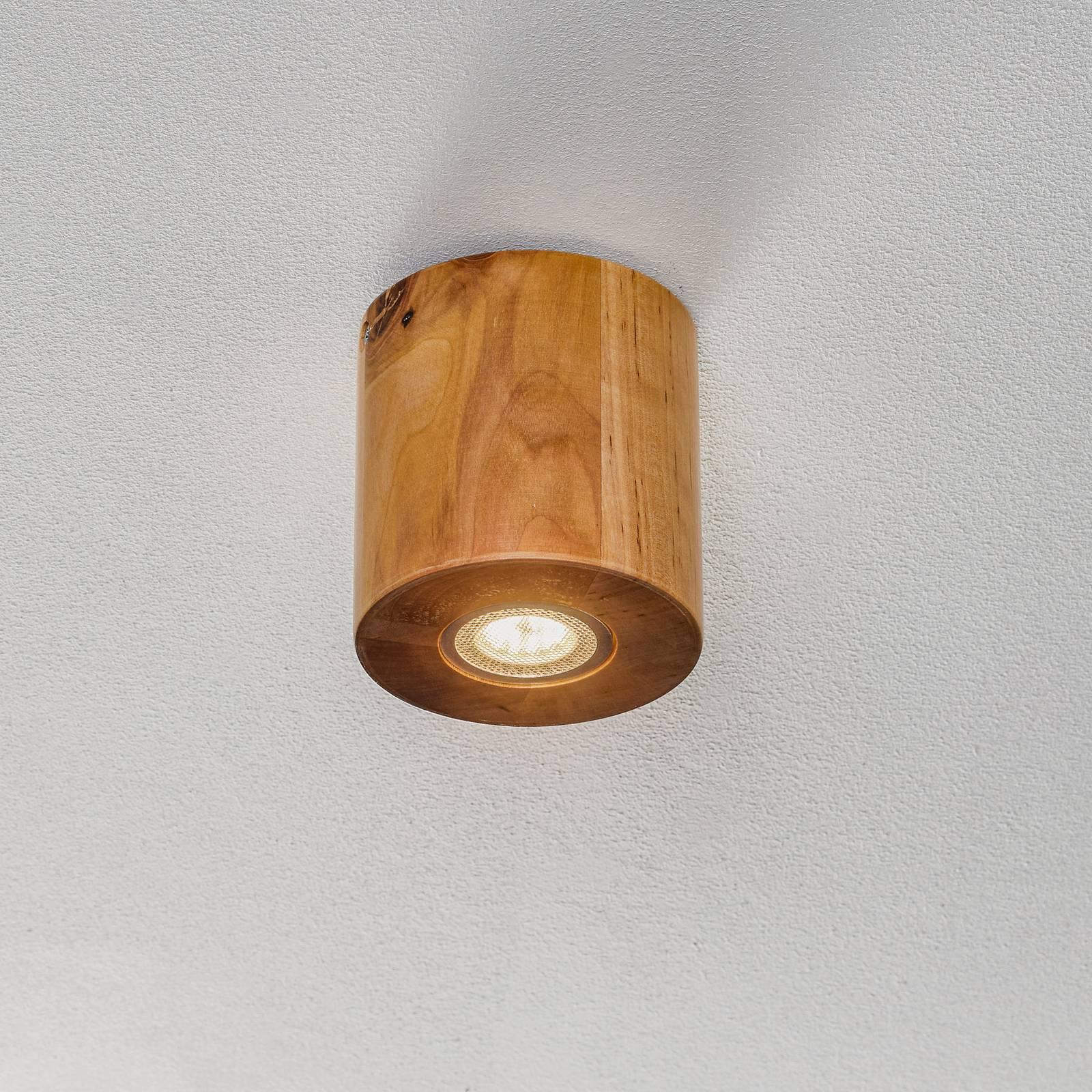 Kattovalaisin Ara, puinen lieriö