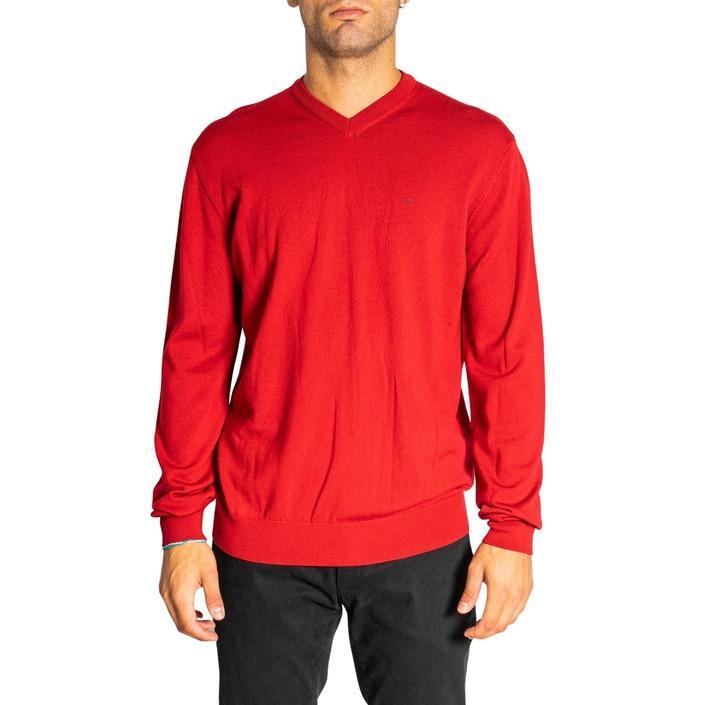 Emporio Armani Men's Knitwear Red 322160 - red XL