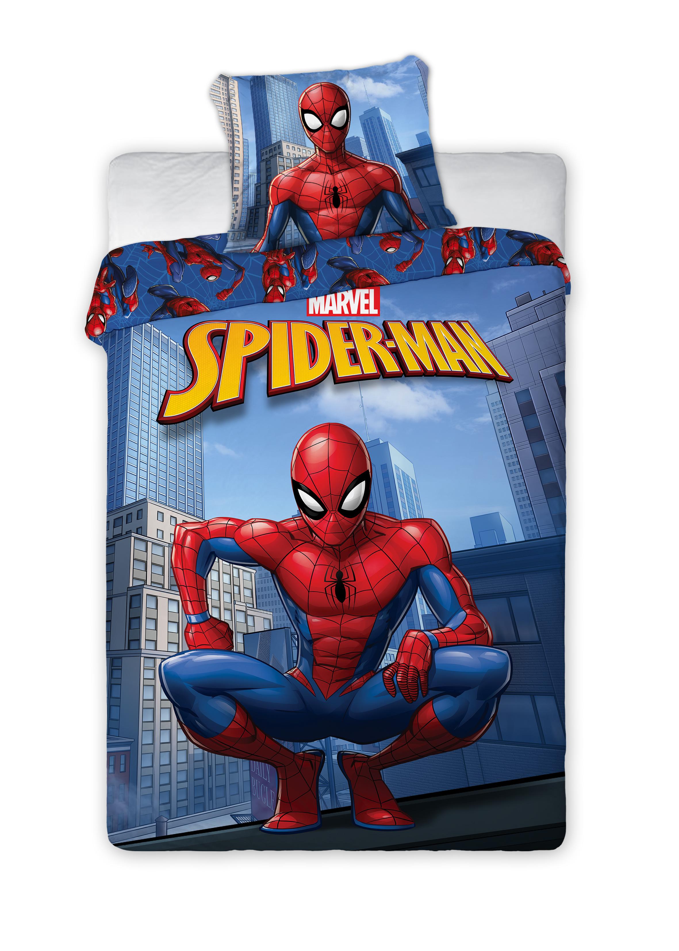 Bed Linen - Adult Size 140 x 200 cm - Spiderman (SM074-CS)