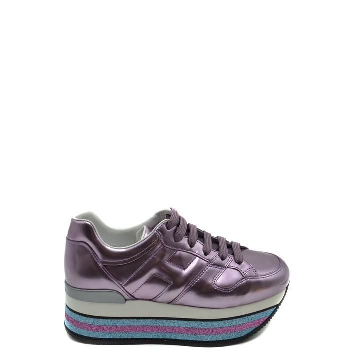 Hogan Women's Trainer Purple 170992 - purple 36.5