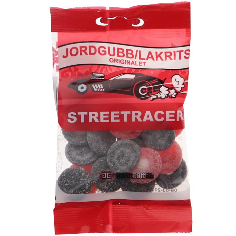 Streetracer Jordgubb/Lakrits - 44% rabatt