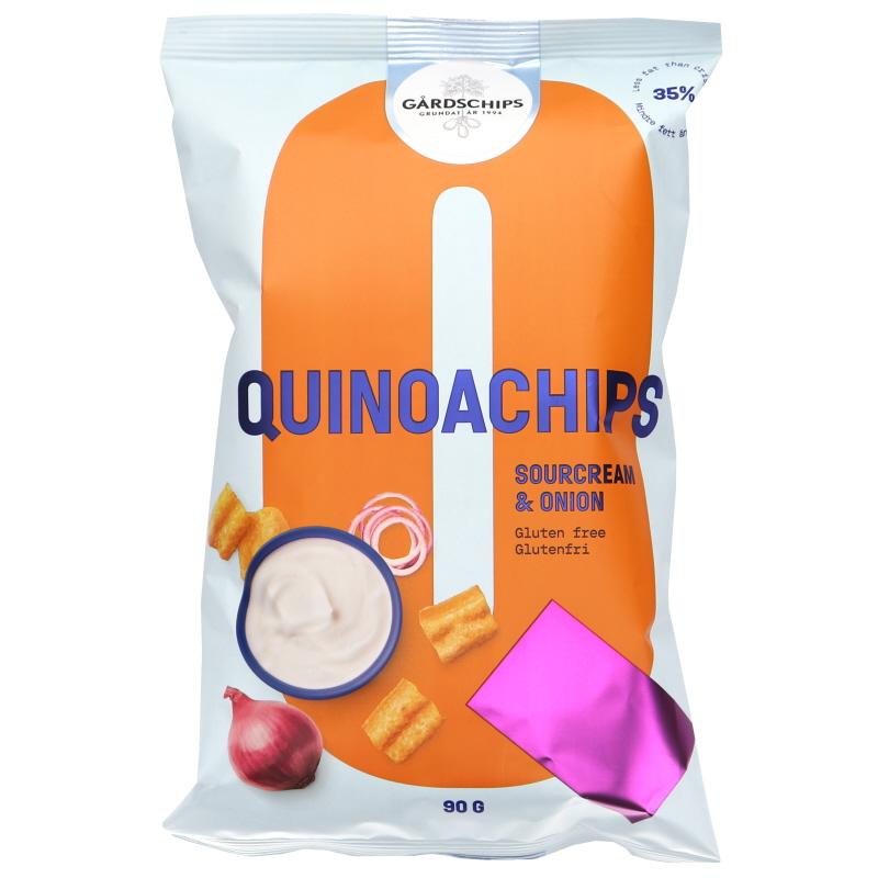 Kvinoasipsit Sourcream & Onion - 20% alennus