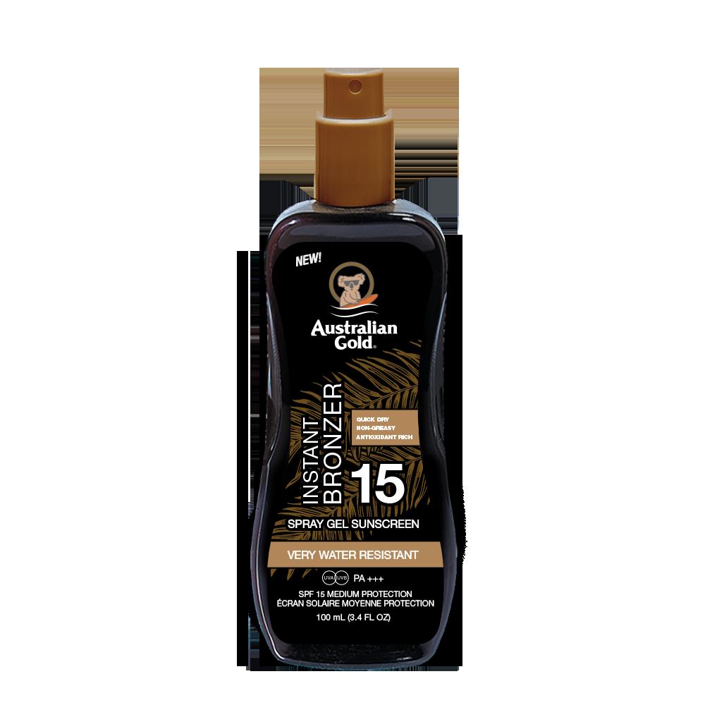 Australian Gold - Instant Sunscreen Spray SPF 15 100 ml