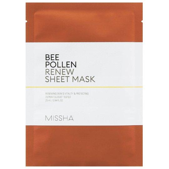Bee Pollen Renew Sheet Mask, 25 ml MISSHA Vaihe 7: Kangasnaamio