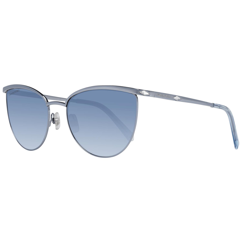 Swarovski Women's Sunglasses Silver SK0195 5684W