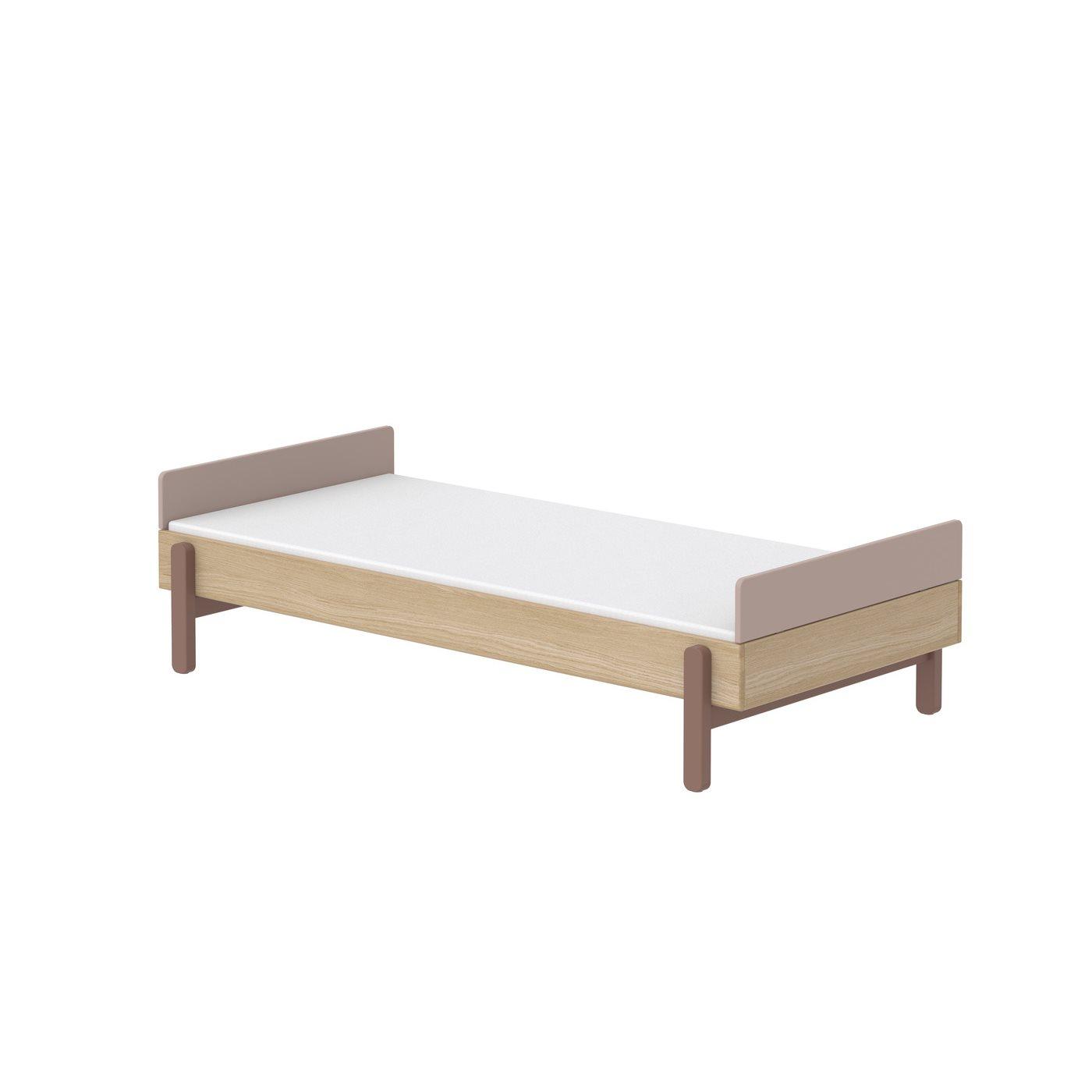 Säng 90 cm POPSICLE fot- och huvudgavel, Flexa
