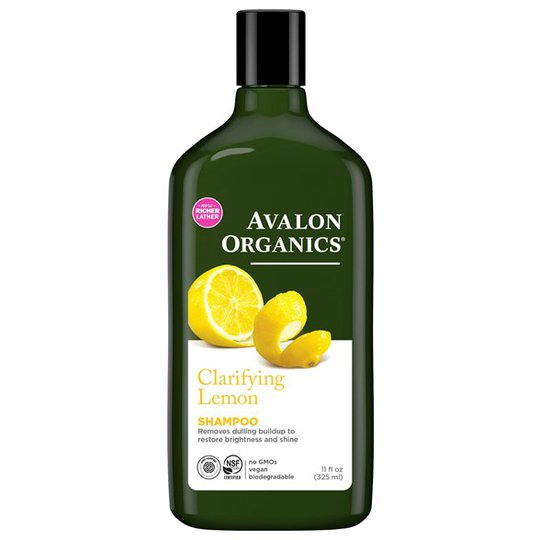 Avalon Organics Clarifying Lemon Shampoo, 325 ml
