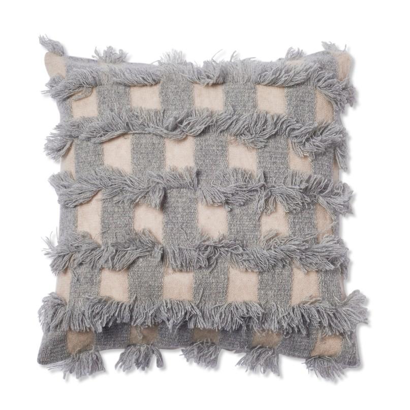 Oyuna I Seren Cushion | Beige and Soft Grey