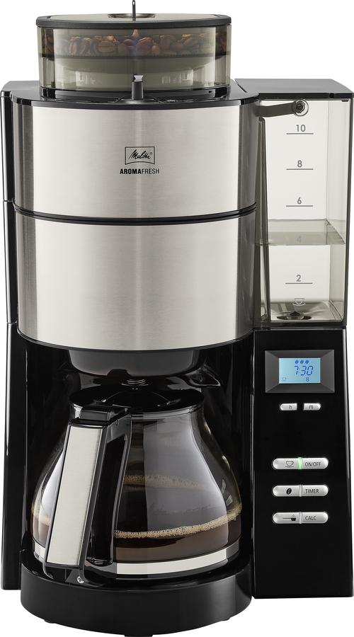 Melitta Aromafresh Glass Kaffebryggare - Rostfritt Stål
