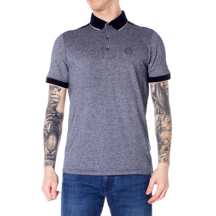 Armani Exchange Men's Polo Shirt Blue 190296 - blue XS