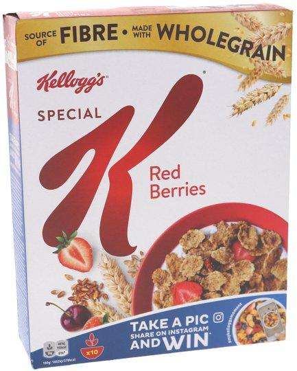 Frukostflingor Red Berries - 32% rabatt