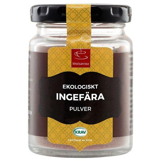 Khoisan Tea Ekologiskt Ingefärapulver, 30 g