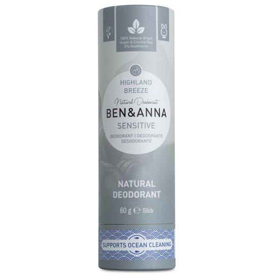 Ben & Anna Natural Sensitive Deo Stick Highland Breeze, 60 g