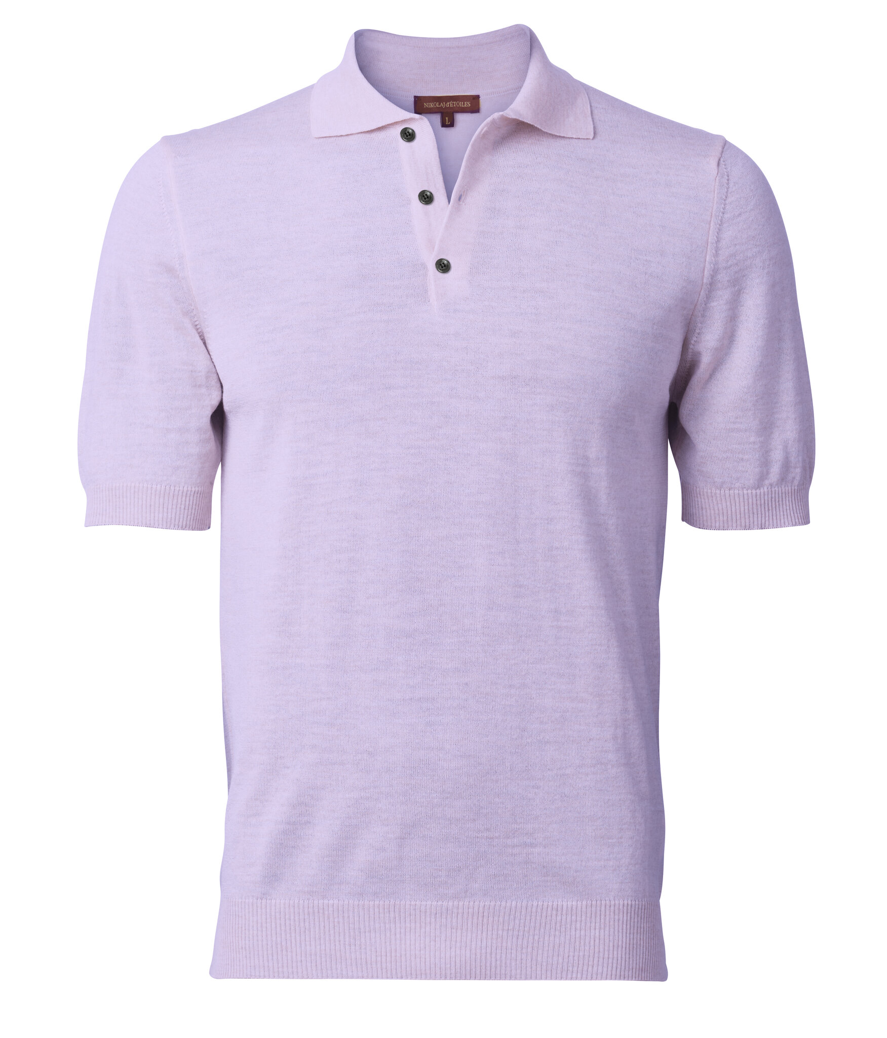 Fritz Short Sleeved Knitted Polo Shirt