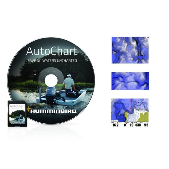 Humminbird AutoChart ZeroLine SD-kort