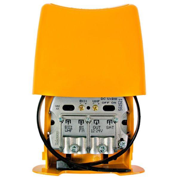 Televes Nanokom LTE700 Mastforsterker kanal 21–48, Kombi+FM