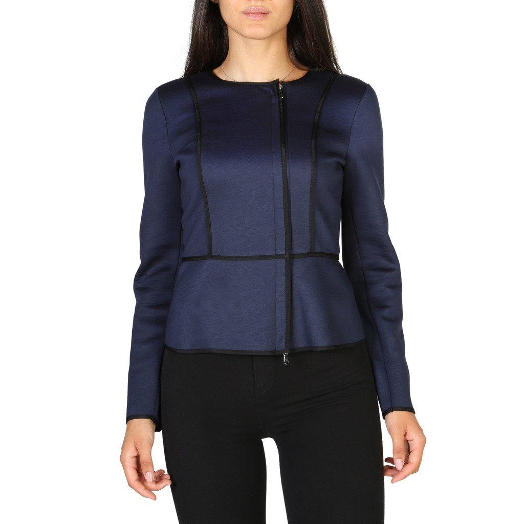 Emporio Armani Women's Blazer Blue 3Y2G2A2J4XZ - blue 42 EU