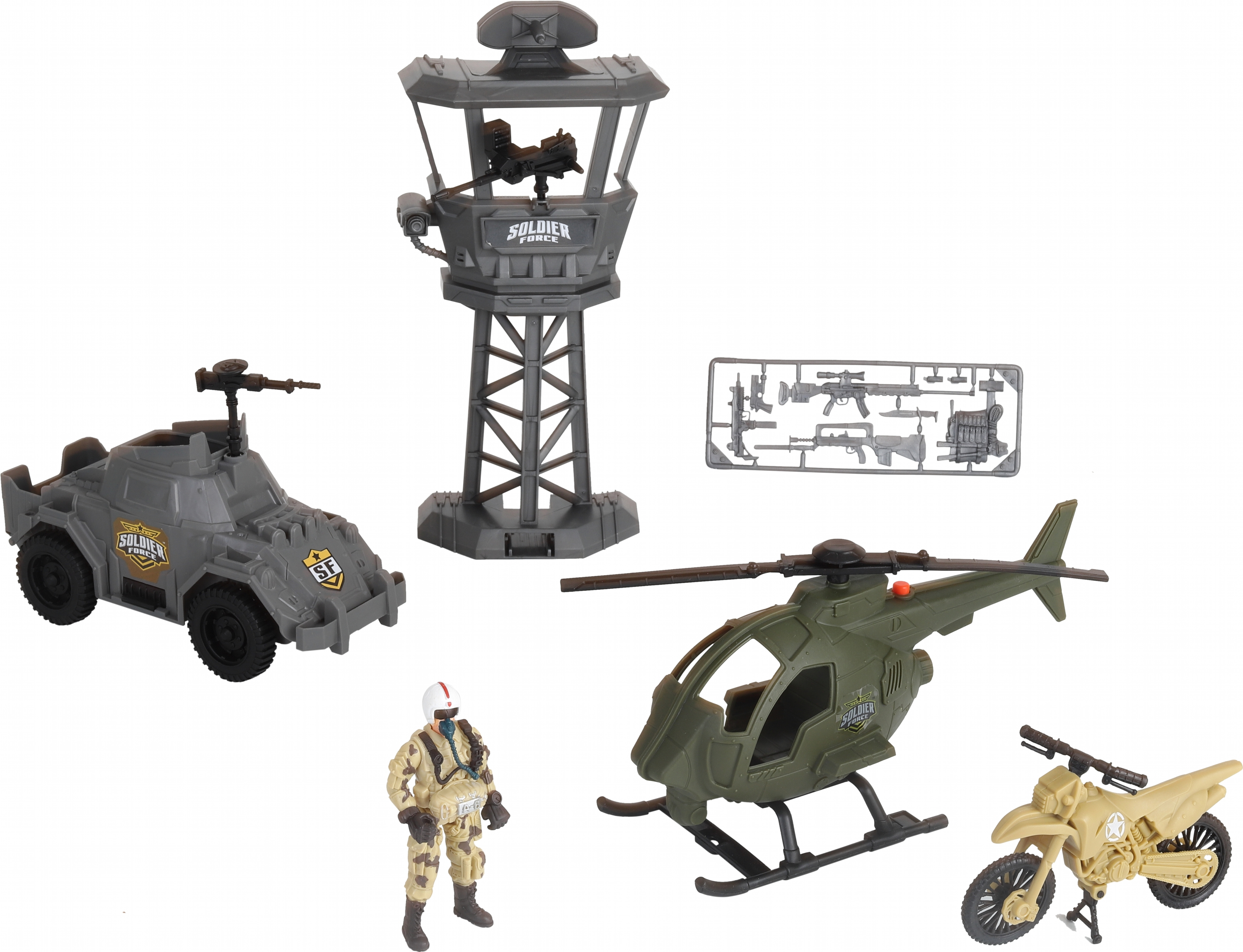 Soldier Force - Defense Outpost Playset (545053)
