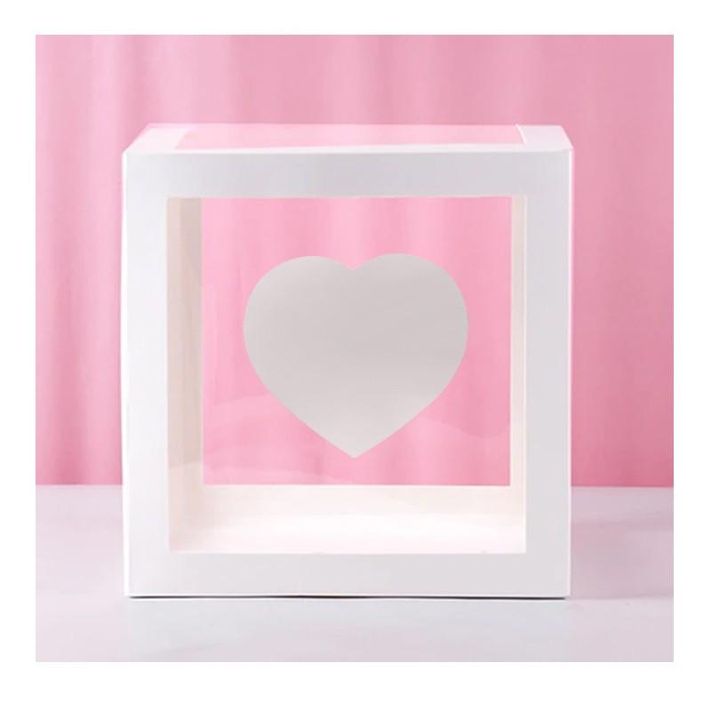 Ballongbox med Bokstav - Symbol Hjärta