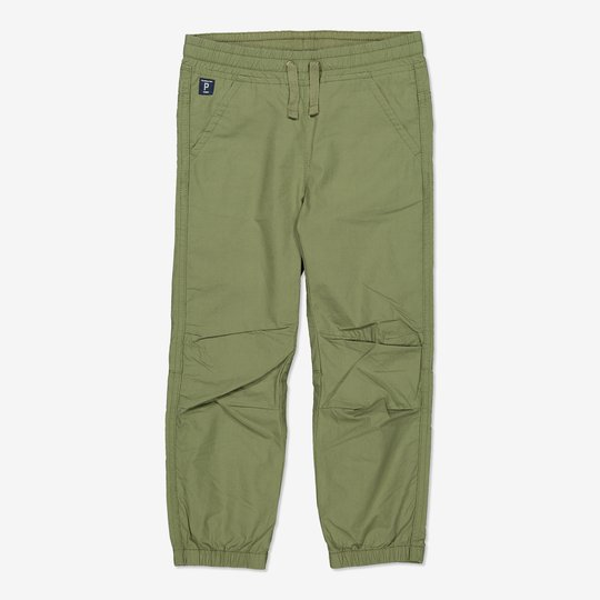 Dra-på-bukse grønn
