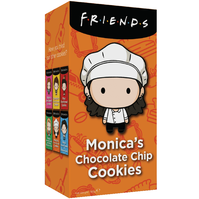 Friends Cookies - Monica's Chocolate Chip 150g