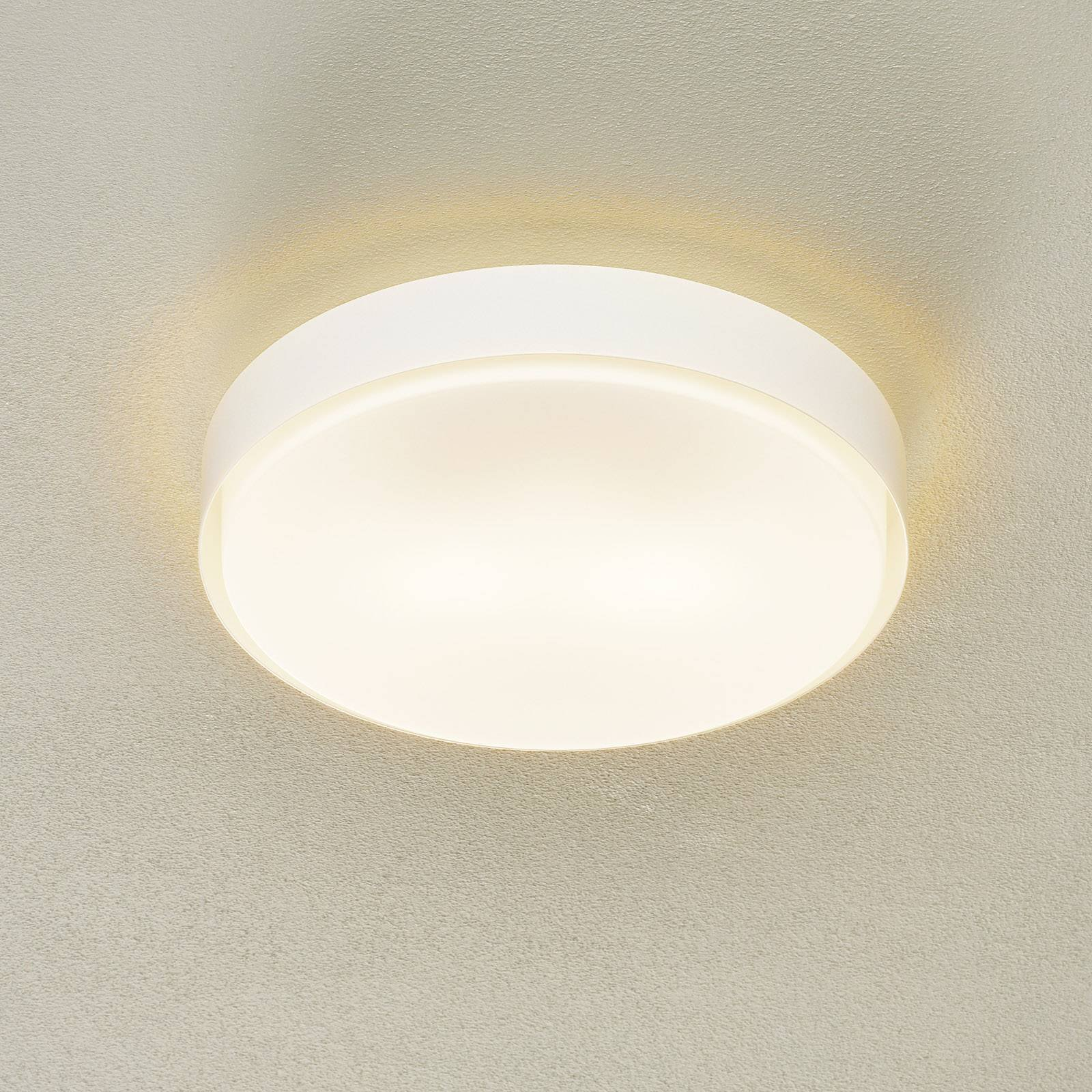 BEGA 89758 LED-taklampe E27 3 000 K hvit Ø 36 cm