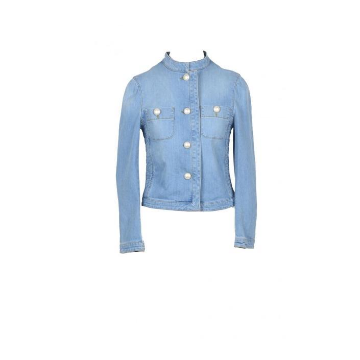 Boutique Moschino Women's Blazer Blue 171910 - blue 38