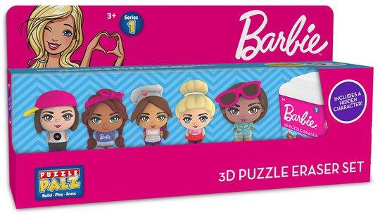 Barbie Viskelær 3D 6-pack