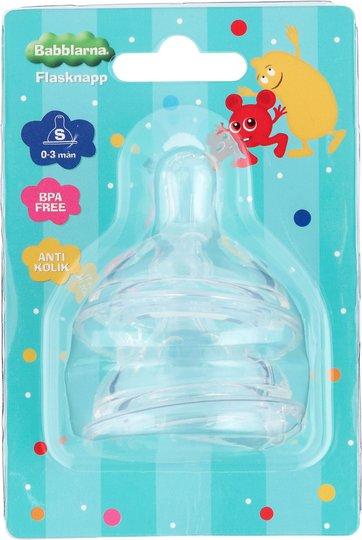 2b Baby Babblarna Flaskesmokk 0-3 mnd S 2-pack