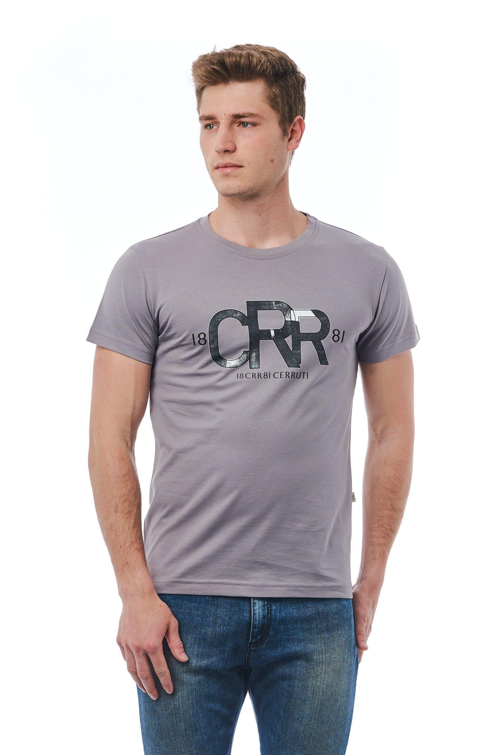 Cerruti 1881 Men's Grigio T-Shirt Grey CE1409906 - M