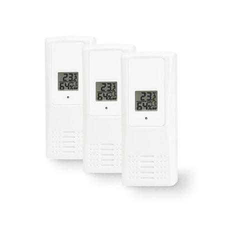 Temp-/luftfukt-sensor 433 3-pack