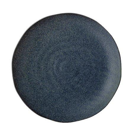Aura Tallerken Blått Steingods 28,5 cm