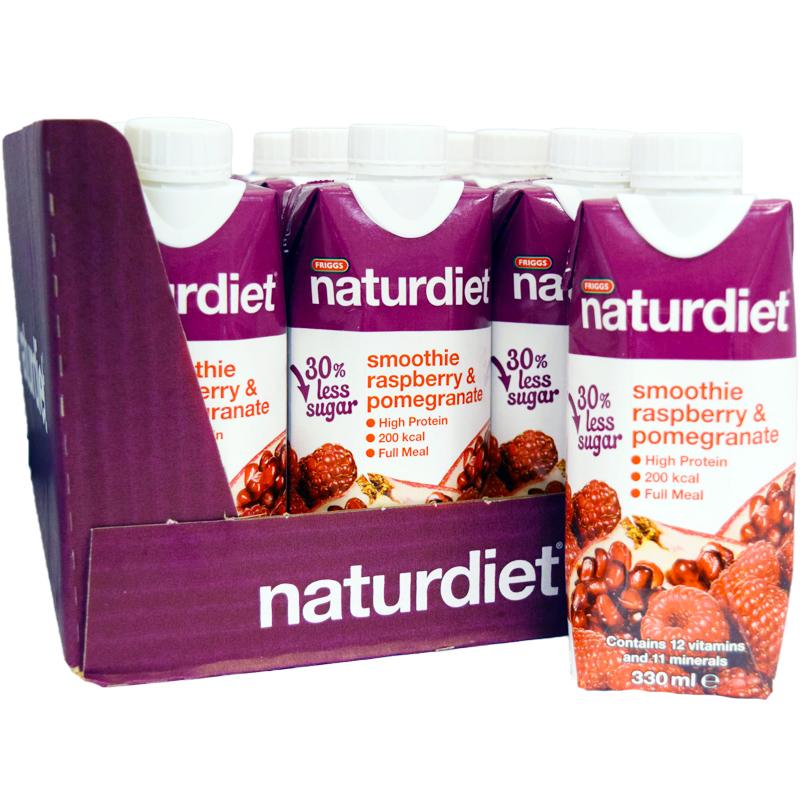 Naturdiet Smoothie Granatäpple & Hallon - 52% rabatt