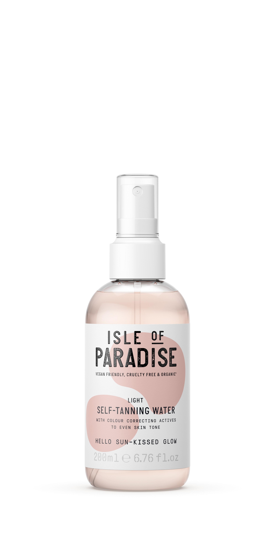 Isle of Paradise - Light Self Tanning Water 200 ml