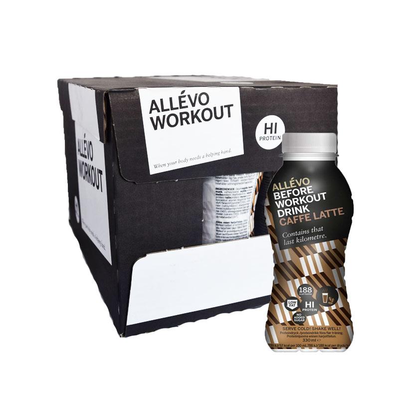 Laatikko: Proteiinijuoma, Kahvi Latte 12 x 330 ml - 37% alennus