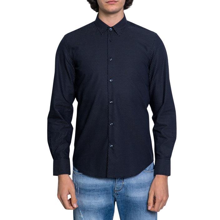 Antony Morato - Antony Morato Men Shirt - blue 44